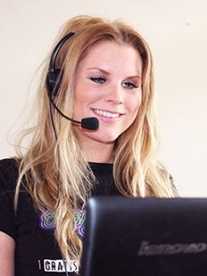 Contact Holly via livechat