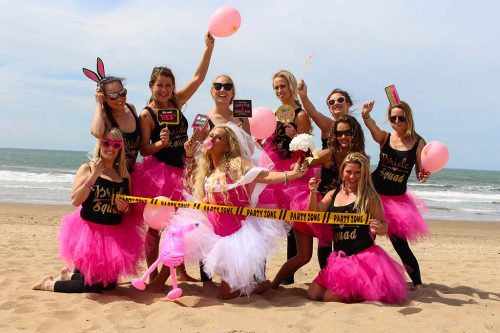 bachelor-party-women-mini-photo shoot-scheveningen