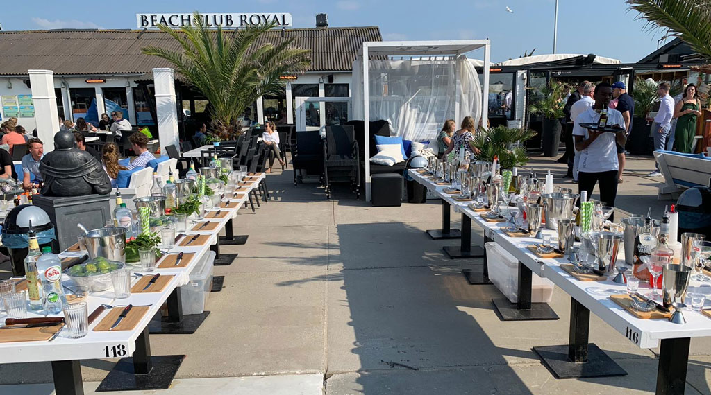 bachelor party-in-scheveningen-at-location-royal-beach